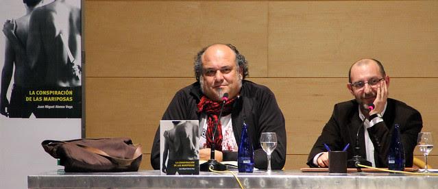 PRESENTACIÓN EN LEÓN DE LA CONSPIRACIÓN DE LAS MARIPOSAS EN LEÓN - 27.01.12