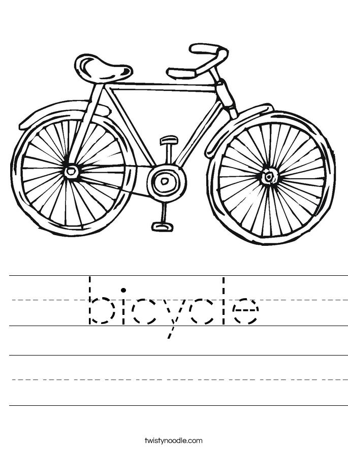 bicycle 5_worksheet