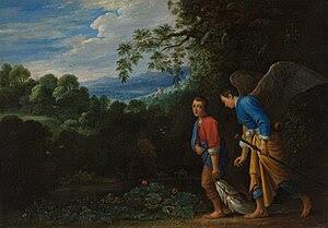 Archangel Raphael and Tobias