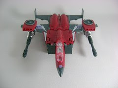 Transformers Thrust Classic Henkei - modo alterno