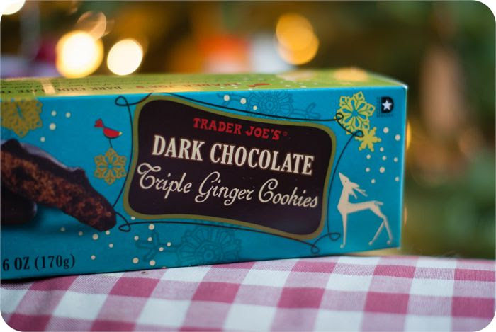 trader joe's dark chocolate triple ginger cookies review