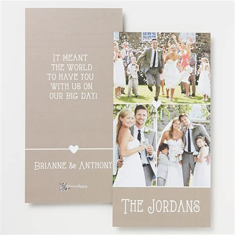 How To Write A Wedding Thank You Card