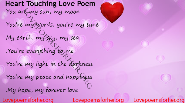 Heart Touching Love Poem Love Poems For Her