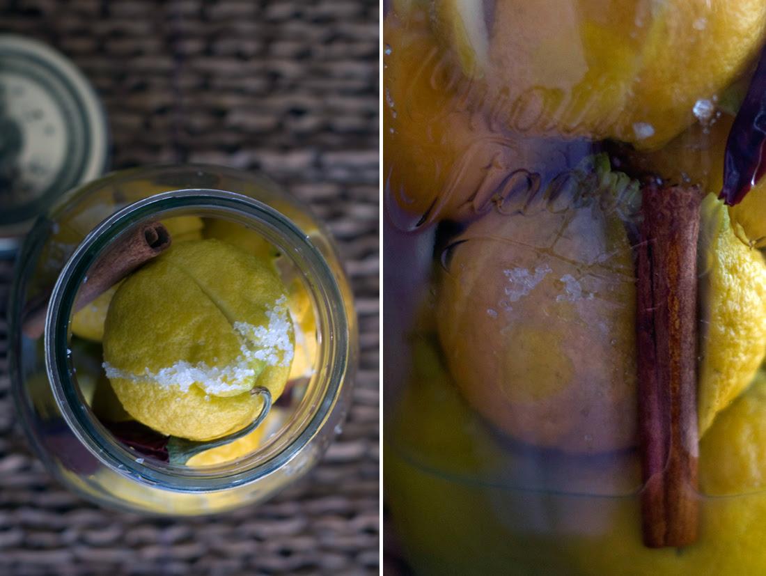 Conserva de limões à marroquina // Preserved Lemons
