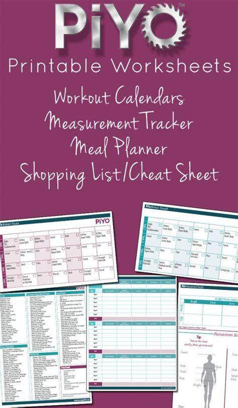 piyo printable worksheets nice shopping   ojays