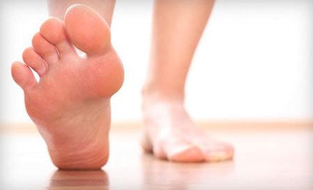 chân người, vi khuẩn, nấm, nhiễm trùng
