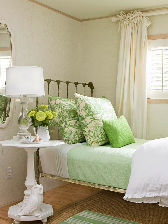 44 Wonderful Spring-Inspired Bedroom Decorating Ideas | DigsDigs