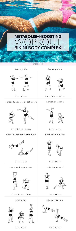 full body workout  women metabolism boosting routine