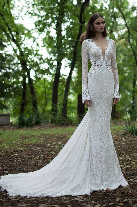 45 Chic Long Sleeve Wedding Dresses (New!)   Deer Pearl