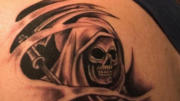Imagenes De La Santa Muerte En Tatuajes 6 Imágenes De La Santa