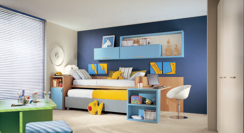 Interior Decorating Ideas Cool And Ergonomic Bedroom Ideas For Two Children
