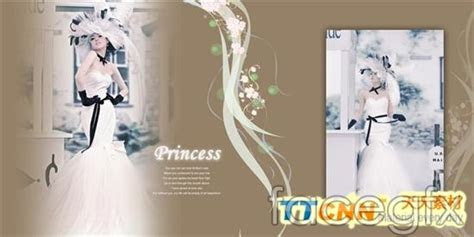 6 Free Wedding Album PSD Templates Images   Wedding Album