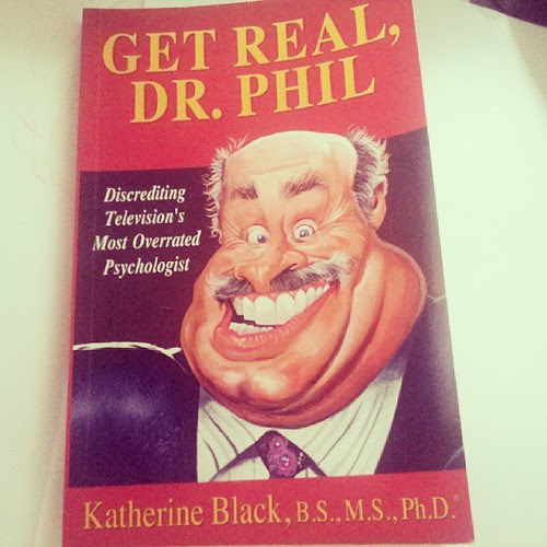 "Dr. Phil caricature for book cover "" Get real Dr. Phil"" by Katherine Black. by caricaturas"