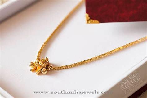 Gold Thali Kodi (Mangalsutra) Design   Gold, Diamond