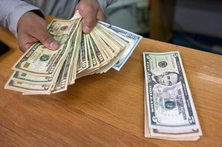 El dólar por las nubes. Foto: Germán Canseco