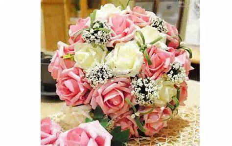 Wedding Flowers: silk flowers wedding table arrangement