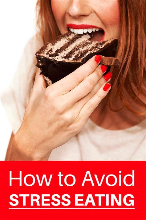 avoid stress eating society