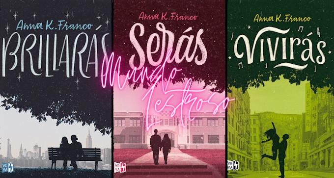 Trilogia Brillaras - Anna K Franco [Español ]