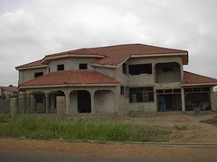 uncompleted mansion