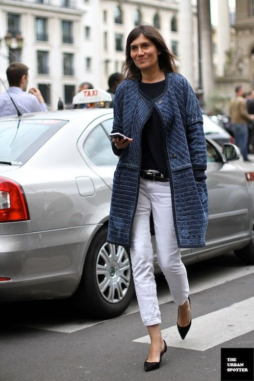 Le Fashion Blog 11 Ways To Wear Kitten Heels Emmanuelle Alt Street Style Denim Jacket White Cropped Jeans Belt Black Tee Via The Urban Spotter photo Le-Fashion-Blog-11-Ways-To-Wear-Kitten-Heels-Emmanuelle-Alt-Street-Style-Denim-Jacket-Via-The-Urban-Spotter-8.jpg