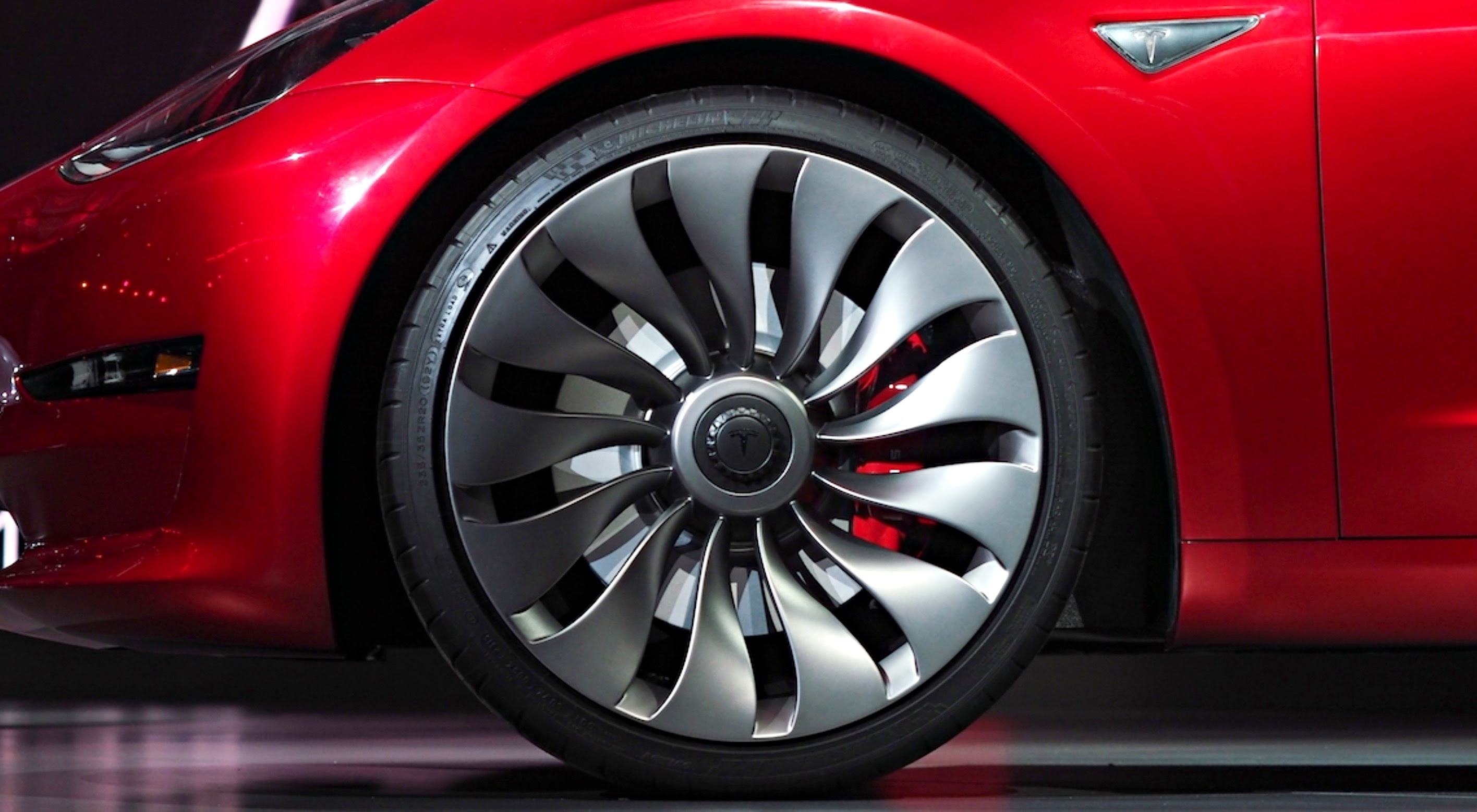 Tesla Model  Wheel Option Could Be Coming For Dual Motor Configurations