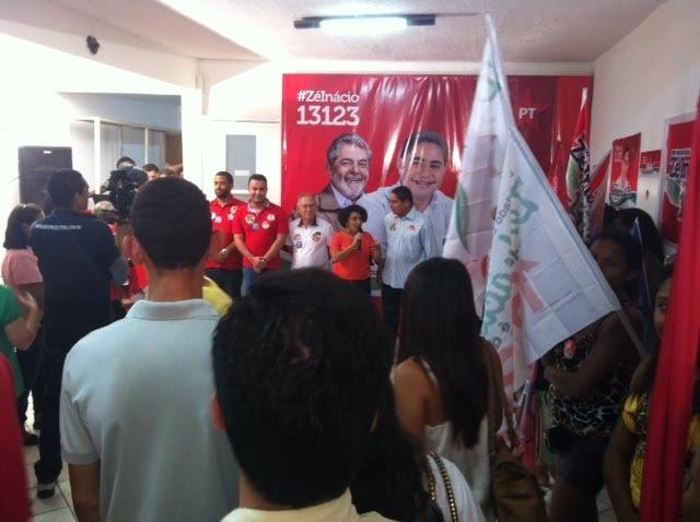 Coordenadora da campanha da Dilma no Maranhão, Berenice Gomes  reforçou importância da candidatura de Zé Inácio, representante legítimo das lutas do PT