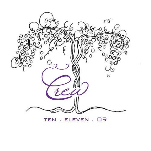 Vineyard Wedding Logo From EllasPaper