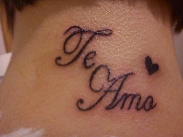 Te Amo Tattoo