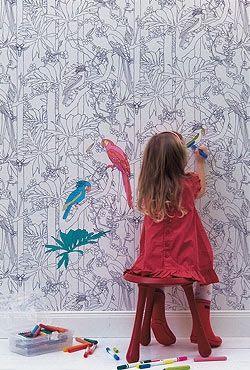 5 DIY Ideen: Wandgestaltung im Kinderzimmer