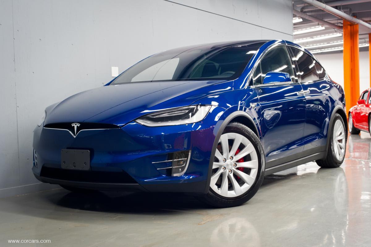 2018 Model X P100d 6 Seater Blue On Black 6 Seats Canada 125kcdn Or 94kusd Tesla Motors Club