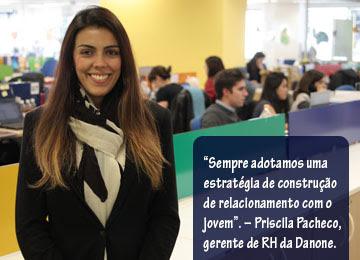 Priscila Pacheco - Gerente de RH da Danone