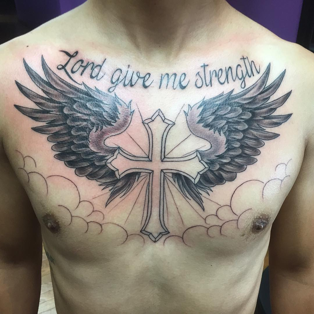 65 Best Angel Wings Tattoos Designs Meanings Top Ideas 2019