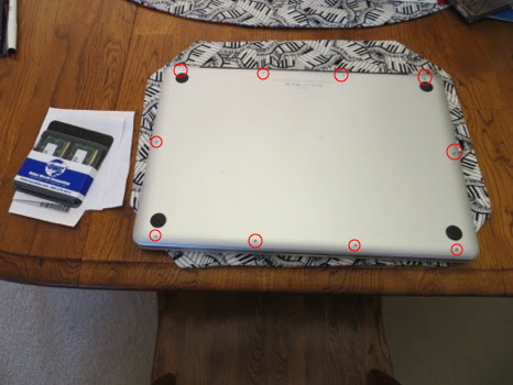 bottom of laptop