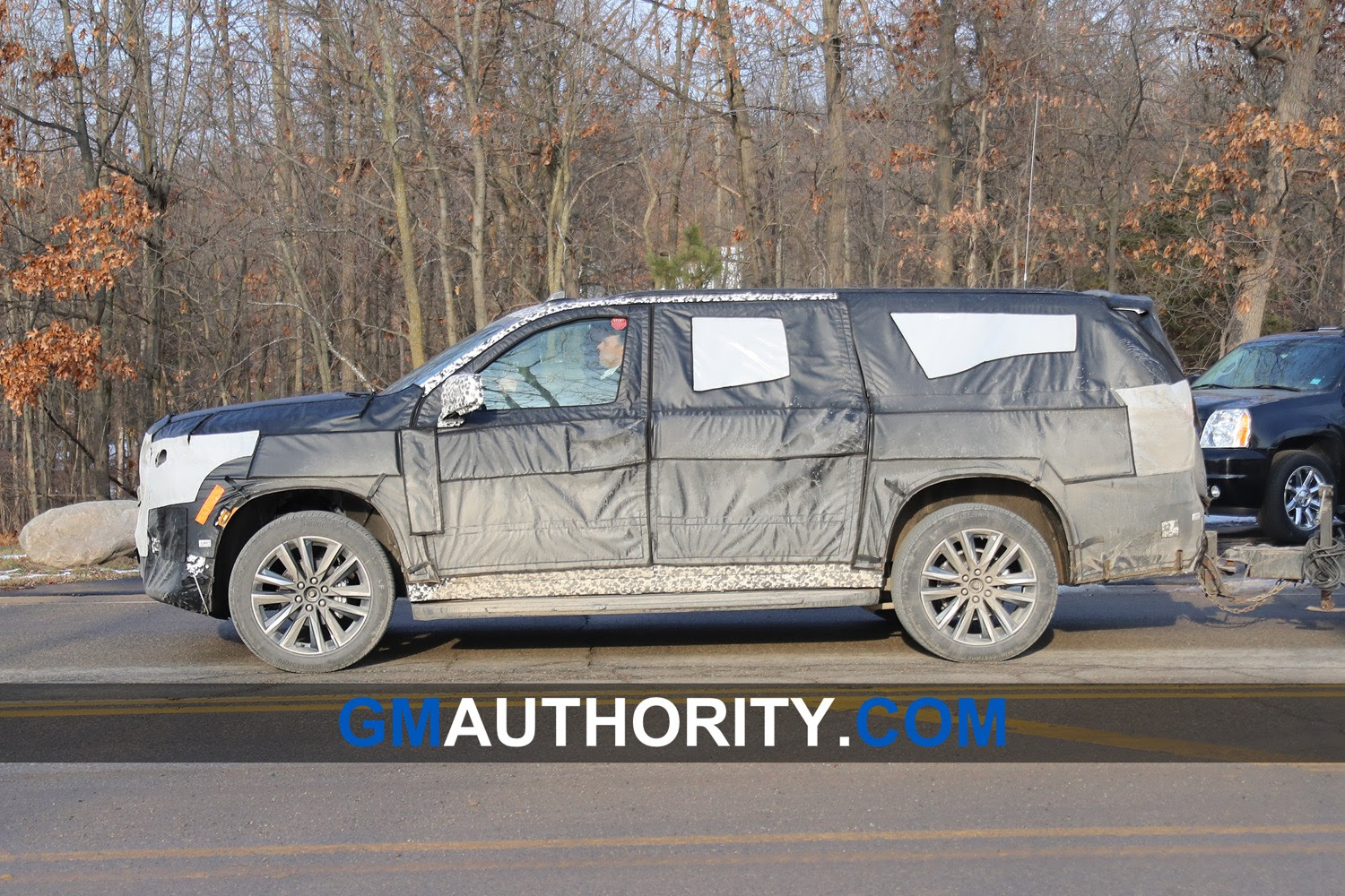 2021 escalade could have a huge center screen  gm authority