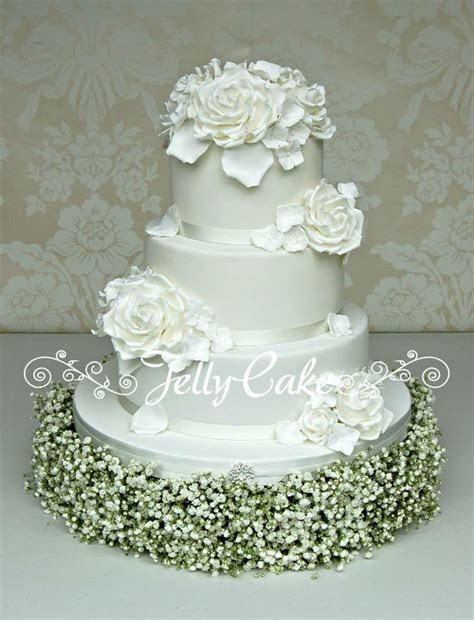 1000  ideas about Rose Wedding Cakes on Pinterest   Red