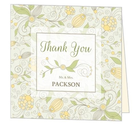 Bridal Shower Thank You Card Wording, Etiquette, Sayings