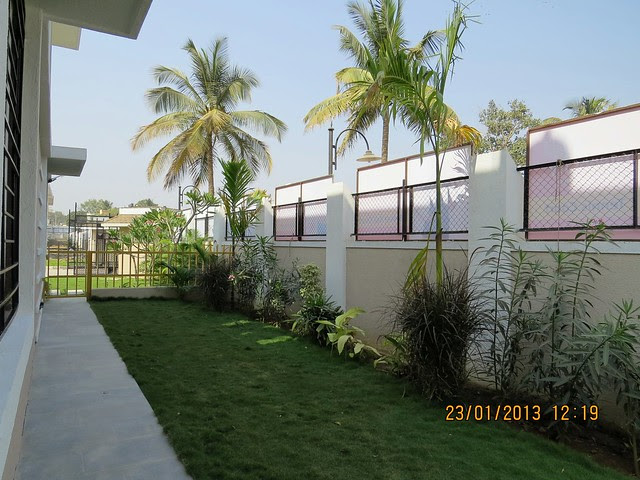 Private Garden - 3 BHK Bungalows at Green City Handewadi Road Hadapsar Pune 411028