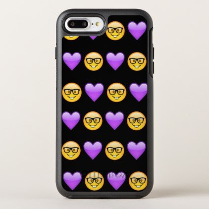 Nerd Emoji iPhone 7 Plus Otterbox Case