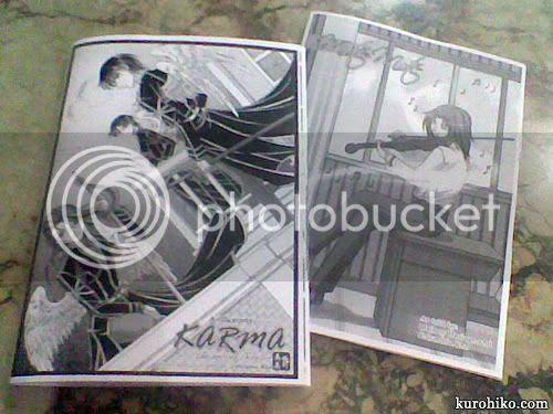 karma 2 and mote-mote independent manga