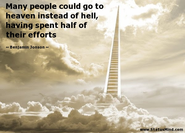 Many People Could Go To Heaven Instead Of Hell Statusmindcom