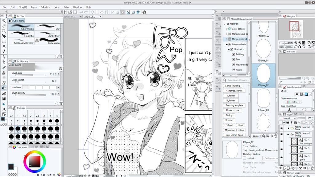 Manga Studio EX 5 - Manga Drawing Software