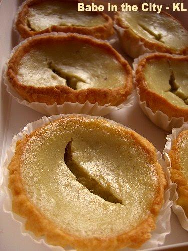 YK - durian tarts