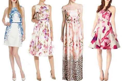 Flower Power! Floral Wedding Guest Dresses   Outfit Ideas