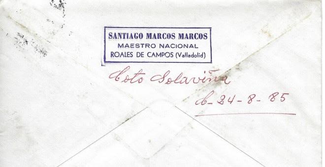 Remite de Santiago Marcos. / CLAUDIO RODRÍGUEZ FER