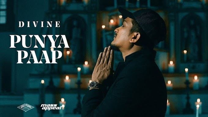 DIVINE - PUNYA PAAP LYRICS IN HINDI