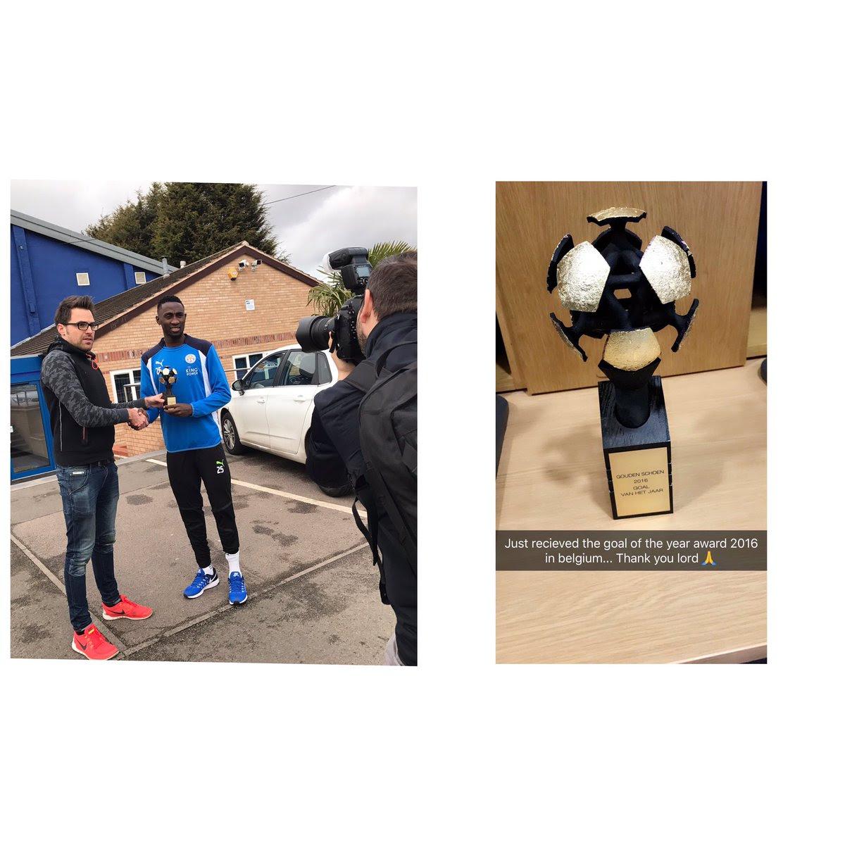 Ndidi Wilfred Wins Belgium 2016 Goal Of The Year (Photo)
