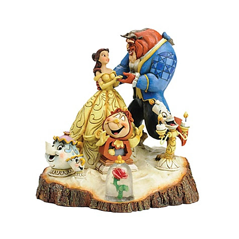 Jim Shore Disney Traditions Beauty and the Beast Figurine