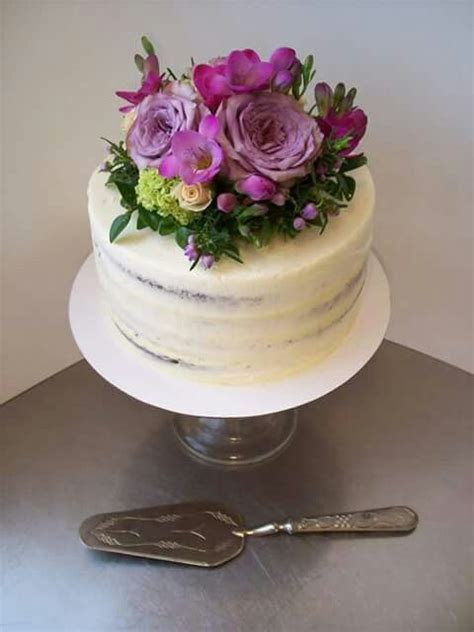 Semi naked cake auckland $165 8 inch 3 layer free delivery