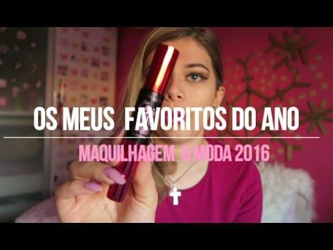 Video - Os meus favoritos de maquilhagem de 2016