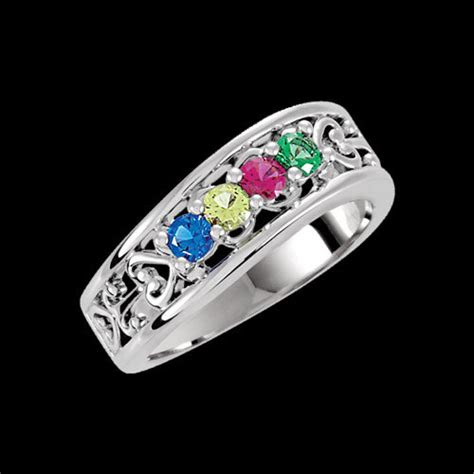 mothers family rings handcrafted jewelry   occasions